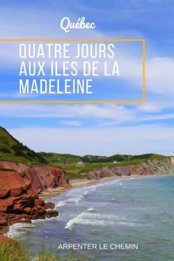 quebec canada iles madeleine voyage