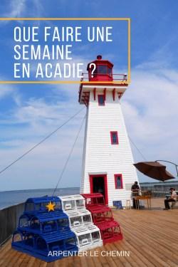 ACADIE ITINERAIRE CANADA VOYAGE NOUVEAU-BRUNSWICK