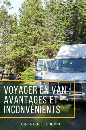 voyage van vanlife blog voyage arpenter le chemin