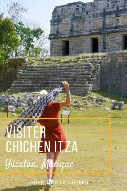 chichen itza yucatan mexique blog voyage arpenter le chemin