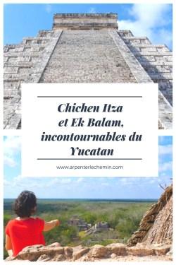 yucatan mexique chichen itaz ek balam blog voyage arpenter le chemin