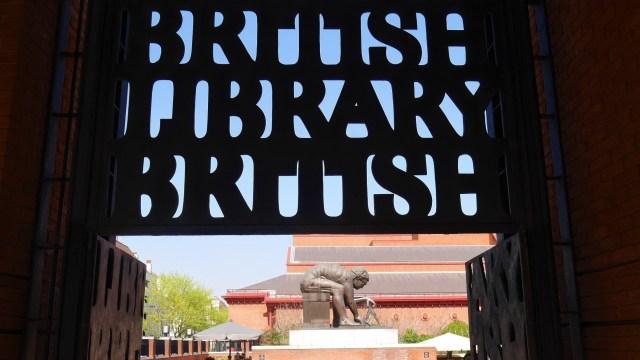 British Library Arpenter le chemin Londres