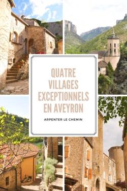 quatre villages exceptionnels en aveyron