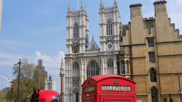 Westminster Abbey Londres Arpenter le chemin