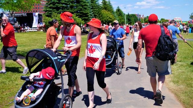 Fete Canada Day Moncton Maritimes