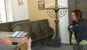 Roselyne Singer est issue de la toute petite communauté juive dErstein. (Photo DNA)