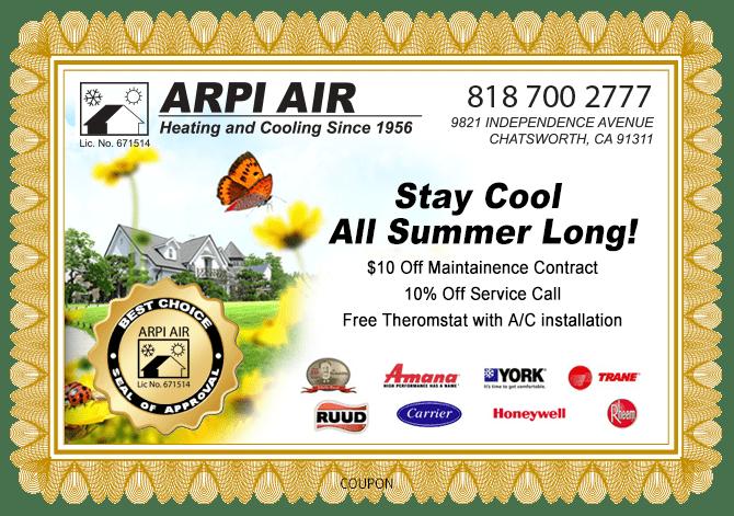 AC service discount coupon