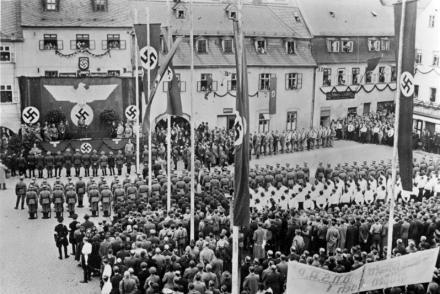 Sudetenland, Eger, Besuch Wilhelm Frick