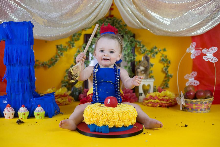 First Birthday Photoshoot Cake Smash Photography Bangalore Karnataka
