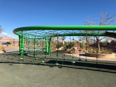 powder coated playground equipment