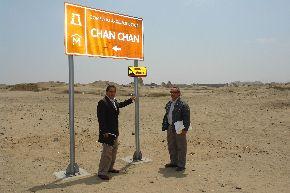 Mejoran señalización en destinos turísticos de Ruta Moche