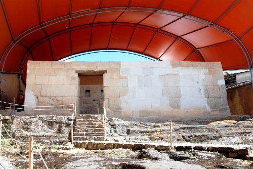 Realizan trabajos de restauración y conservación en histórico Cuarto del Rescate de Atahualpa en Cajamarca