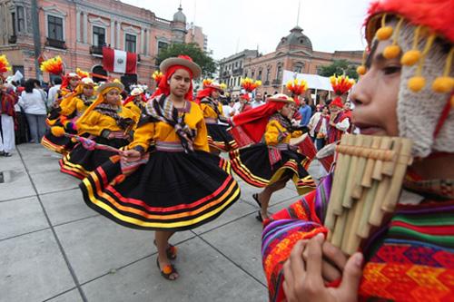 Calendario de fiestas en Perú