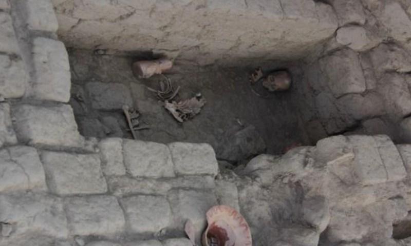 Encuentran restos mochicas en Complejo Arqueológico de Mocollope en Chocope