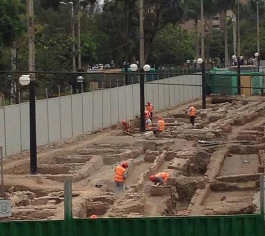 "Consorcio a cargo de obra en Miraflores: ""estructura revelada no es colonial ni prehispánica"""