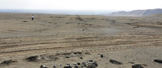Encuentran geoglifos anteriores a las líneas de Nazca