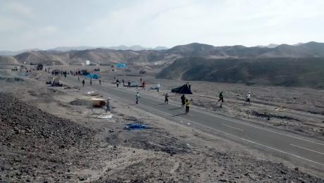 Recuperan área intangible arqueológica de Nasca