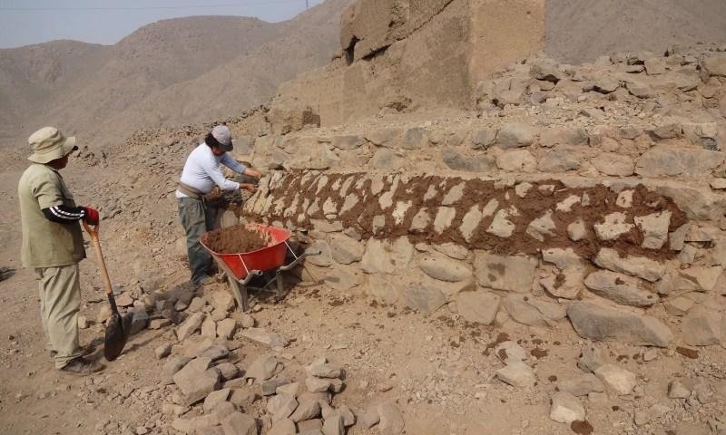 Ministerio de Cultura y Villa Los Ingenieros realizan acciones para la protección y conservación de la Zona Arqueológica Carapongo B