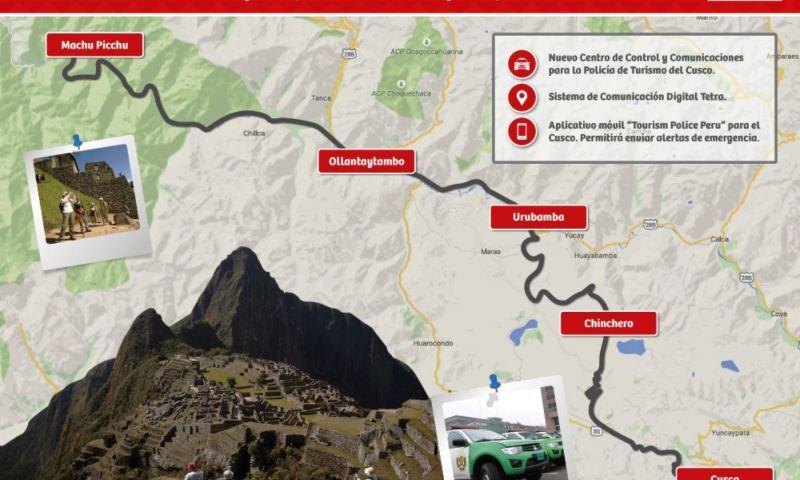 Inauguraron Corredor Turístico Preferencial Cusco-Machu Picchu