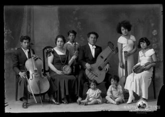 Los musicos de Martin Chambi Musicos familia Echave