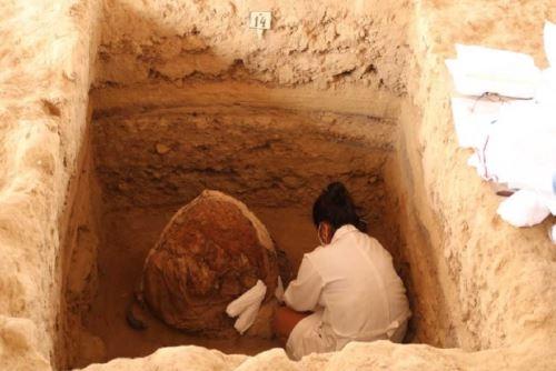 Cuatro de los entierros hallados en Huaca Las Abejas del Complejo Túcume serían de la nobleza Inca