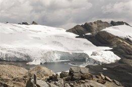 Ya en 1991 era un hecho preocupante que el glaciar retrocediera a razón de 10 metros por año
