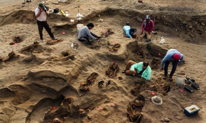 Album: Descubren en Perú el más grande sacrificio masivo de niños de América