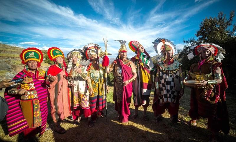 Los escenarios del Inti Raymi en el Cusco