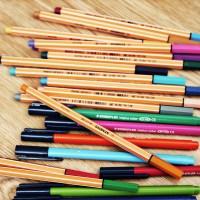 Instrumentos de desenho para arquitetos