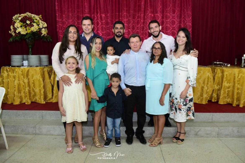Diácono Mariano e sua família