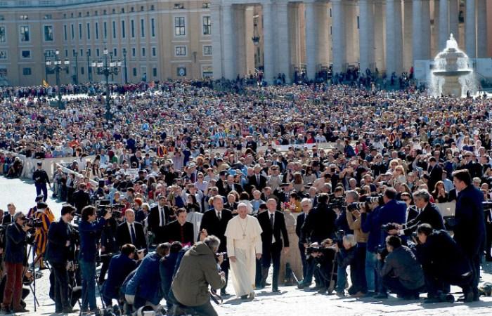 Texto completo de la catequesis del papa Francisco en la audiencia del miércoles 18 de mayo de 2016