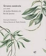 Guia árvores notáveis – Ilustração botânica – 200 anos do Jardim Botânico do Rio de Janeiro