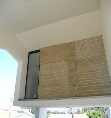 Estructura de cubierto de vivienda en el Morrazo, En coautoría con Félix Gómez Pousa, arquitecto.