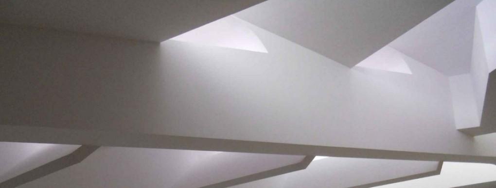 Iluminación natural de espacio cultural