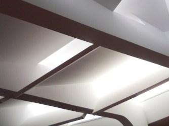 Diseño de lucernarios de cubierta de auditorio