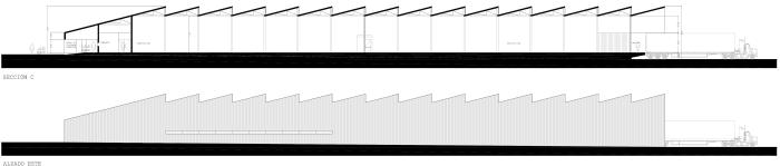 proyecto de los arquitectos de nave industrial en As Pontes