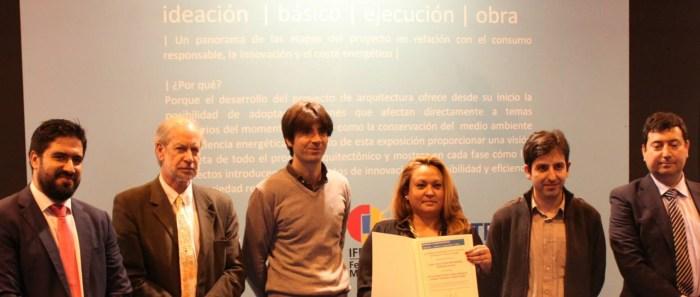 Entrega de reconocimientos en IFEMA Madrid procesos arquitectónicos