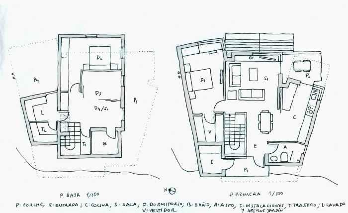 plantas-vivienda-cangas-morrazo-arquitectura-mano-alzada
