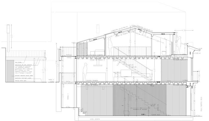 seccion-reforma-rehabilitacion-moderna-casa-antigua-arquitectos-modernos-vigo-arquitecto-guarda