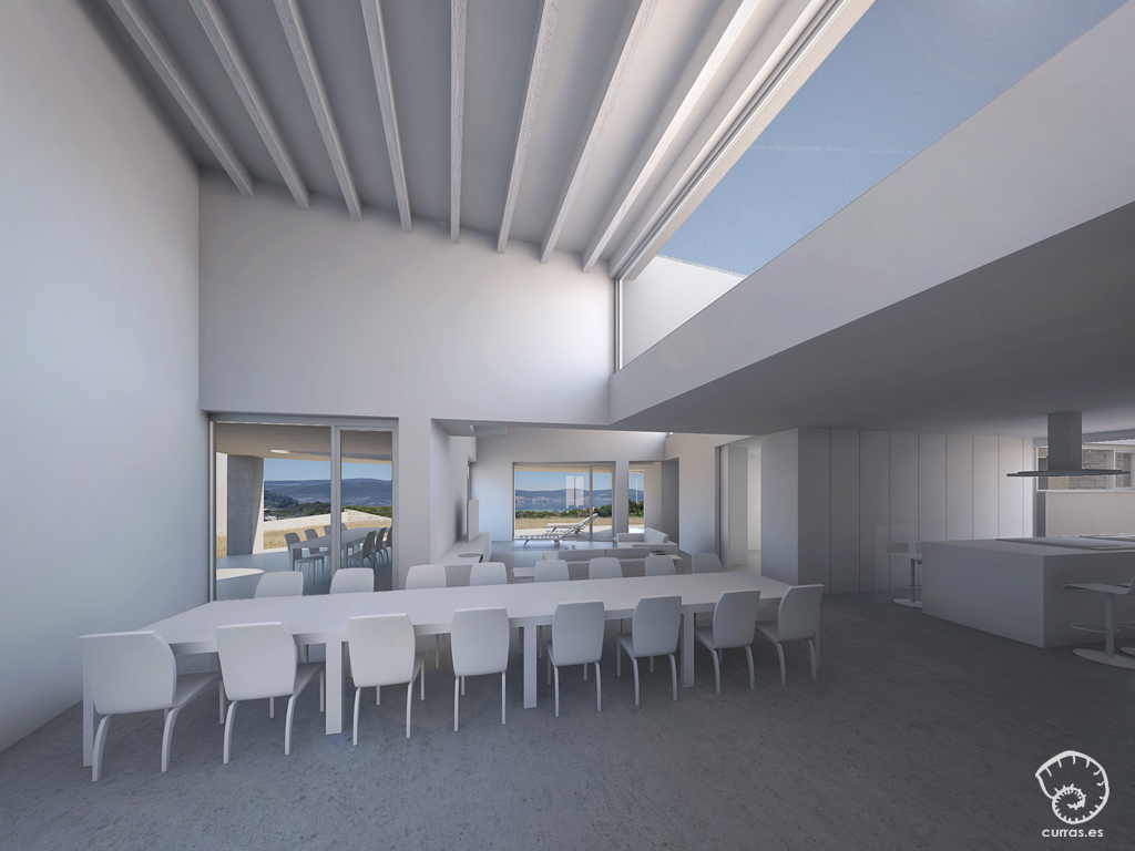 proyecto-vivienda-claristorios-madera-blanca-redondela-interior-arquitecto-curras-arquitectura