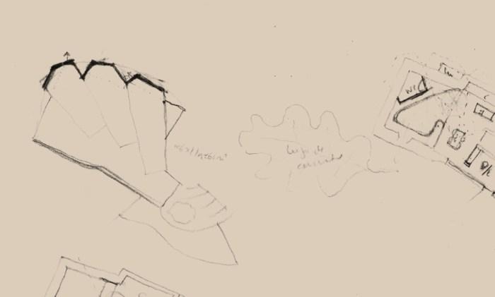 boceto-arquitectura-vivienda-moana-planta-hoja-roble-concha