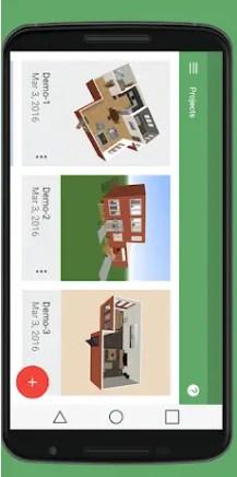 Aplicación para plano Planner 5D
