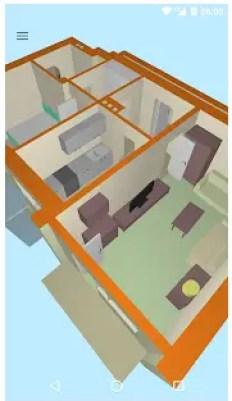 Aplicación para plano Floor plan creator