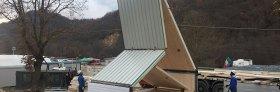 Arquitecto italiano proyecta casa plegable que se puede construir en 6 horas