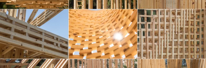 Las estructuras de madera construidas por estudiantes en Hello Wood Argentina 2018