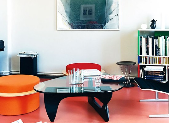 Coffe table de Isamu Noguchi, Photo: Isabel Truniger