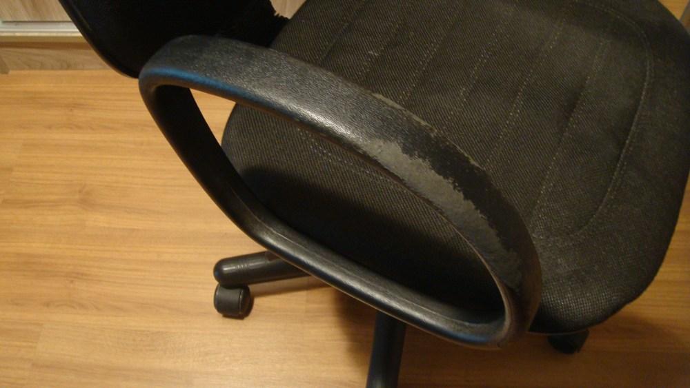 Micro intervenção: cadeira de escritório (1/6)