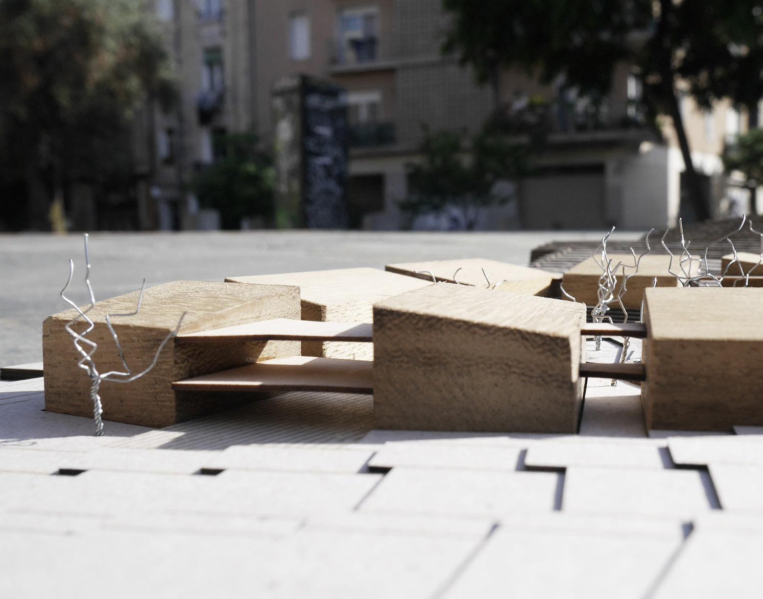 concurso centro de dia residencia selecionado sostenible nzeb maqueta