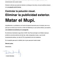 Cartas para el alcalde para usted