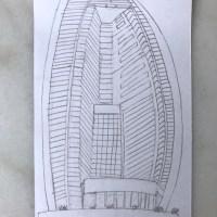 Liviandades de domingo: le volví a pedir a mis estudiantes que dibujaran su edificio favorito